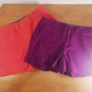 Set of (2) Banana Republic Women's Shorts, Size 2